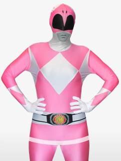 Pink Power Ranger Morphsuit