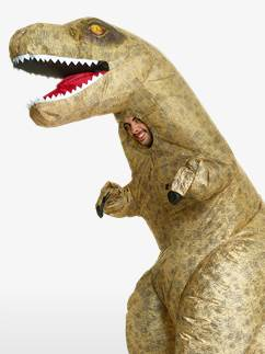 Giant Inflatable T-Rex - Adult Costume Fancy Dress