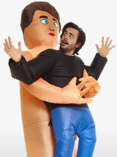 Inflatable Pick Me Up Naked Guy