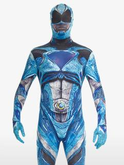 Power Rangers Movie Morphsuit Blue