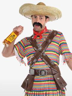 Tequila Bandito - Adult Costume Fancy Dress