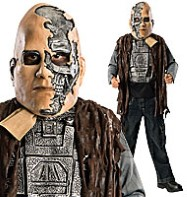 Terminator  Deluxe T600 - Child Costume Fancy Dress