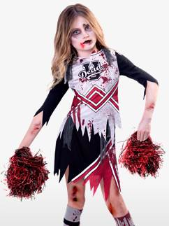Zombie Cheerleader Girl