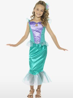Deluxe Mermaid - Child and Teen Costume
