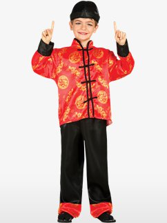 Oriental Boy - Child Costume