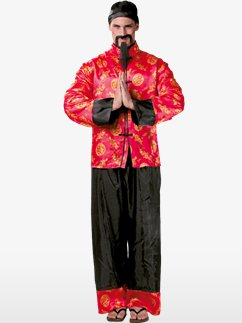 Oriental Man - Adult Costume