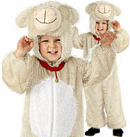 Lamb - Child Costume Fancy Dress