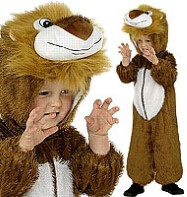 Lion - Child Costume Fancy Dress
