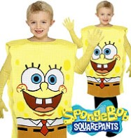 Spongebob -Child Costume Fancy Dress