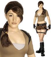 Lara Croft Fancy Dress Costume, Tomb Raider Costumes