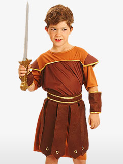 Roman Soldier - Child Costume Fancy Dress