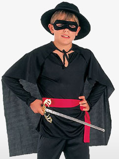 Zorro - Child Costume Fancy Dress