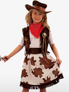 Cowgirl - Child Costume Fancy Dress