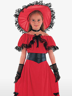 Scarlett O'Hara - Child Costume Fancy Dress