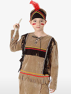 Indian Boy - Child Costume Fancy Dress