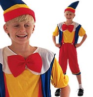 Pinocchio - Child Costume Fancy Dress
