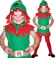 Elf Tunic - Child Costume Fancy Dress