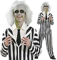 Beetlejuice - Teen Costume Fancy Dress
