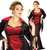 Scarlet Vampira Full Figure - Adult Costume Fancy Dress
