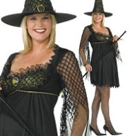 Maternity Witch - Adult Costume Fancy Dress