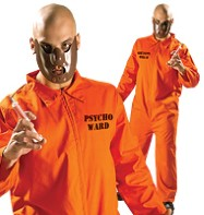 Psycho Ward - Adult Costume Fancy Dress