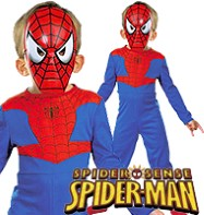 Spiderman Value - Child Costume Fancy Dress