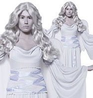 Cemetery Angel Grey - Adult Costume Fancy Dress