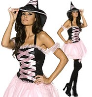 Pretty Witch - Adult Costume Fancy Dress