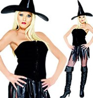 Saucy Witch - Adult Costume Fancy Dress