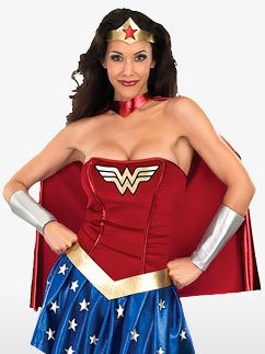Wonderwoman - Adult Costume Fancy Dress