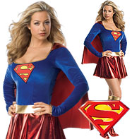Supergirl - Adult Costume Fancy Dress