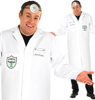 Doctor - Adult Costume Fancy Dress