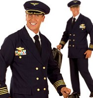Pilot - Adult Costume Fancy Dress