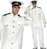 Captain - Adult Costume Fancy Dress