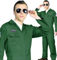 Aviator - Adult Costume Fancy Dress