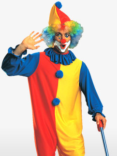 Clown - Adult  Fancy Dress
