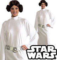 Princess Leia - Adult Costume Fancy Dress