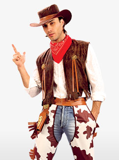 Cowboy - STD Fancy Dress