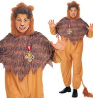 Cowardly Lion - Adult Costume Fancy Dress
