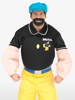 Popeye Brutus - Adult Costume Fancy Dress