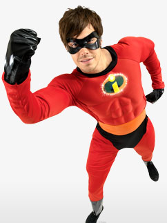 Mr Incredible - Adult Costume Fancy Dress