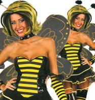 Queen Bee - Adult Costume Fancy Dress