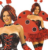 Luscious Lady Bug - Adult Costume Fancy Dress