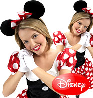 Minnie Mouse - Adult Costume Fancy Dress