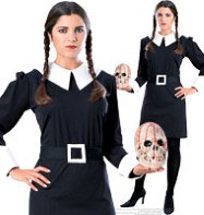 Addams Family Wednesday - Adult Costume Fancy Dress