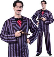 Addams Family Gomez - Adult Costume Fancy Dress