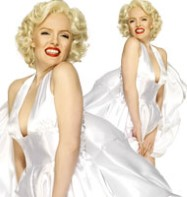 Marilyn Monroe - Adult Costume Fancy Dress
