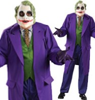 The Joker Deluxe - Adult Costume Fancy Dress