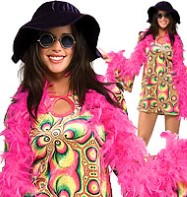Psychedelia - Adult Costume Fancy Dress