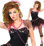 80's Diva - Adult Costume Fancy Dress